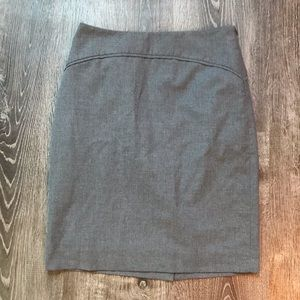 The Limited • Grey pencil skirt